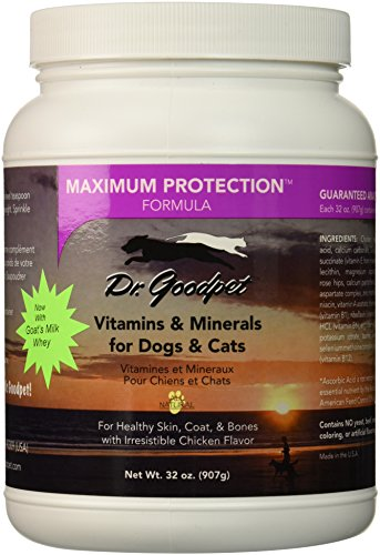 Dr. Goodpet Maximum Protection Formula - Delicious Premium Quality All Natural Multi-Vitamin/Mineral ()