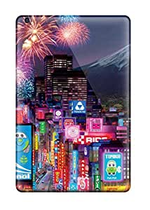 Brand New Mini 3 Defender Case For Ipad (tokyo City In Cars 2)