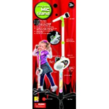 My-Mic Adjustable Microphone Stand for iPod, MP3, Plug and Play for Kids