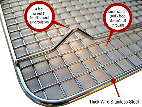 Ultra Cuisine 100 Stainless Steel Thick Wire Cooling