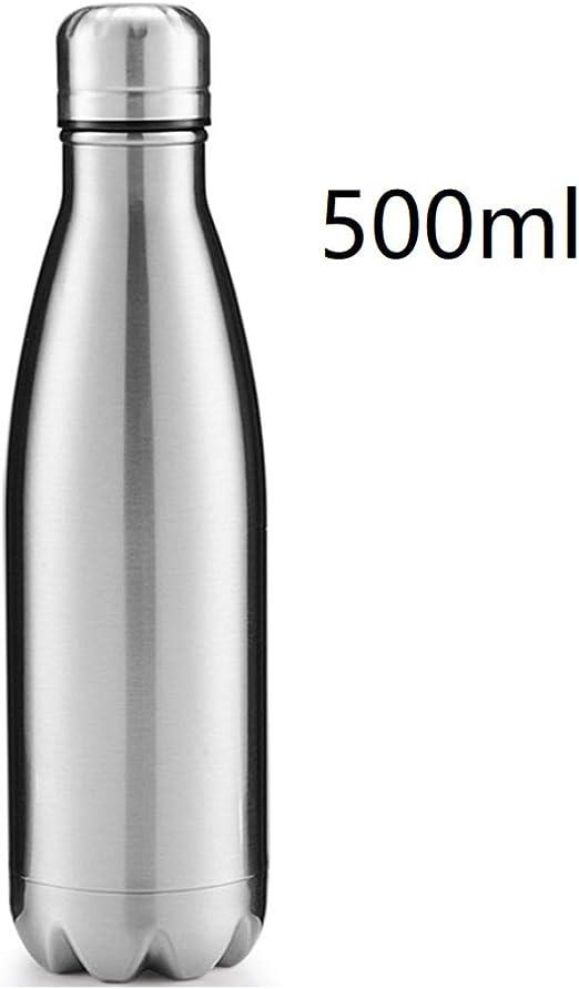 500ml Edelstahl Thermobecher Thermoskanne Isolierflasche Isolierkanne Teesieb