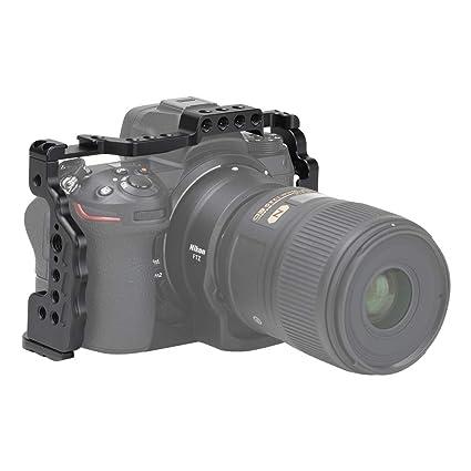 INITZE Z6/Z7 - Jaula para cámara Nikon con Zapata fría y ...