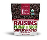 Made in Nature, Organic Raisins, Dried and Unsulfured, 9 oz