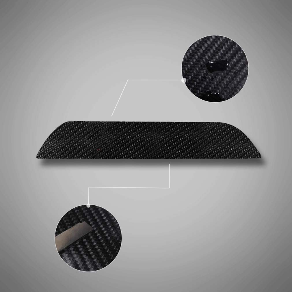 Fibra di Carbonio 4D Battitacco Auto Esterno Batticalcagno per Z3 E36 Z4 E85 E86 E89 Z8 E52 Adesivi delle Soglie delle Porte in Fibra di Carbonio 4 Pezzi