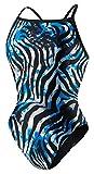 Speedo Zebra Haze Female Youth Blue 24