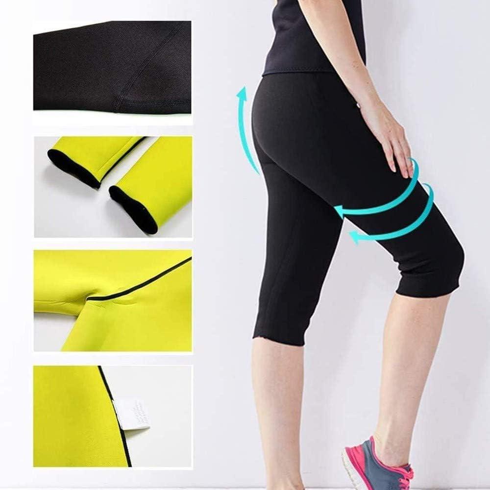 Sauna Pantalones Neopreno Reductora Adelgazante Pantal/ón de Sudoraci/ón2XL Leggings Push Up Pantalon para Adelgazar Mujer Tallas Grandes