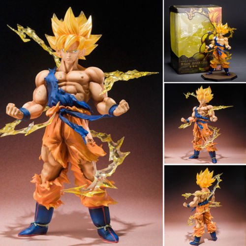 "15cm/ 6"" SON GOKU Dragon Ball Z Super Saiyan Anime Model Figure Collection Toys"