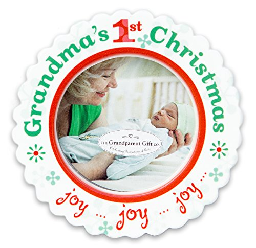 The Grandparent Gift Co. Holiday Grandma's First Christmas Ornament