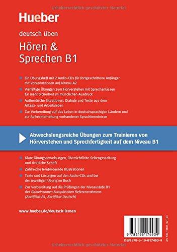 Hören Sprechen B1 Buch Mit 2 Audio Cds Amazonde Anneli Billina