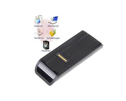 OEM USB Biometric Fingerprint Reader and Password Lock for  Laptop/Desktop/PC (Black)