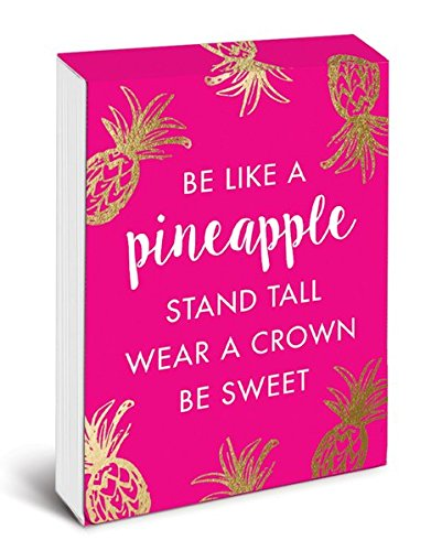 Be Like a Pineapple Pocket Note (Pineapple Notepad)