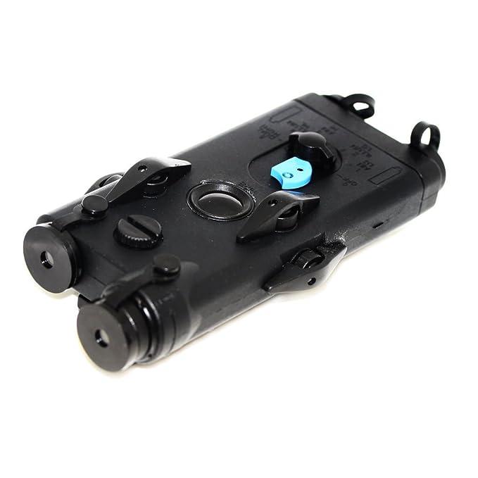 Airsoft Softair Ausr/üstung D-Boys PEQ 2 Style-Batterie-Kasten-Kasten mit RIS Berg Schwarz