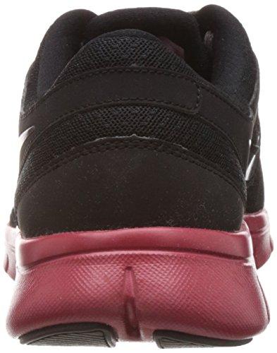 Nike Damen Rot Dunkelgrau Tee Schwarz Shirt rrwfFd