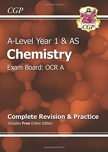 D.O.W.N.L.O.A.D A-Level Chemistry: OCR A Year 1 & AS Complete Revision & Practice with Online Edition Z.I.P