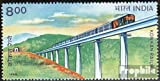 India 1623 (Complete.Issue.) 1998 Konkan-Railway (Stamps for Collectors) Trains/Railway