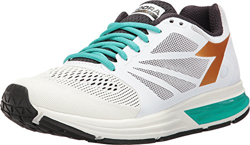 Diadora - Zapatillas de running de Material Sintético para mujer blanco blanco