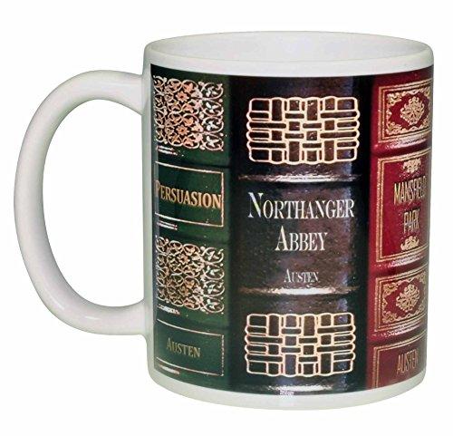 Jane Austen Novel Books Coffee product image