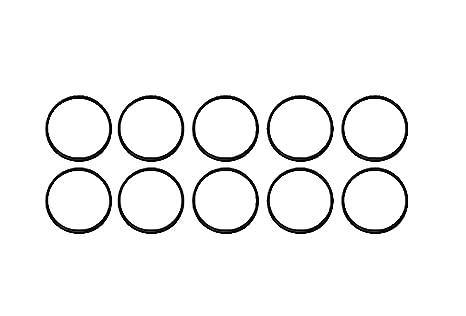 4 1//8 ID X 4 3//8 OD X 1//8 CS Pack of 10 243 O-Ring Seal Buna-N; 70A Durometer Hardness-