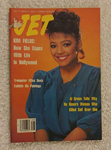 Kim Fields (The Facts of Life, Tootie) - How She Copes with Life in Hollywood - Jet Magazine - July 15, 1985 - Miles Davis, Al Green articles