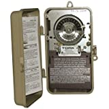 Tork 1104-N Time Switch Indoor/Outdoor 24 Hour Double Pole