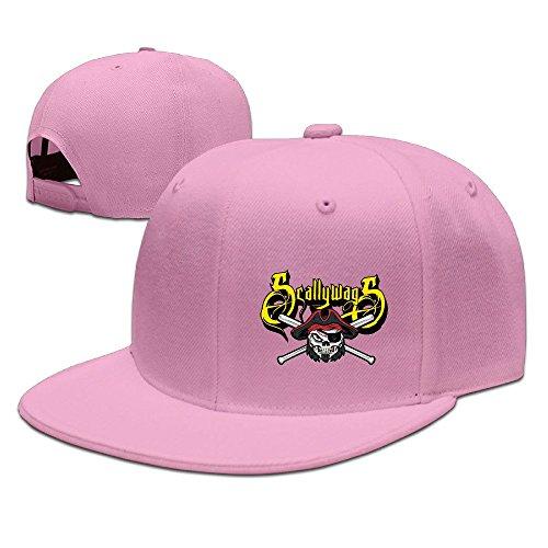 Hat Scallywag (Youth Ryan Leonardy Logo Design Scallywags Softball Adjustable Baseball Hat Pink)