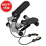 Aerobic Fitness Step Air Stair Climber Stepper Exercise Machine New Equipment Multi-Function Computer Measures The Steps, Time And Calories Effectively Exercise The Ankle ,Knee, Waist And Arms offers
