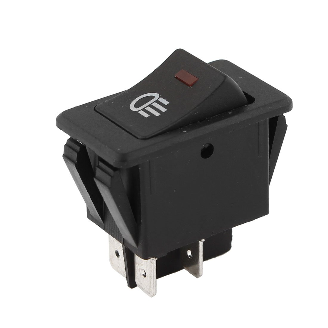 Uxcell a13050700ux0556 Plastic ON-Off 4 Pins Vehicle Headlamp Fog Light Switch Button DC 12V Unknown