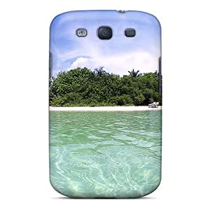 New HHaroldshon Super Strong Maldives Island Tpu Case Cover For Galaxy S3
