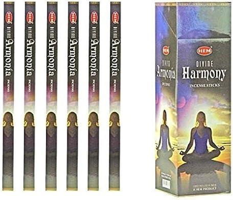 confezione da sei scatole Hem scatola di incensi 120 bastoncini Rosa