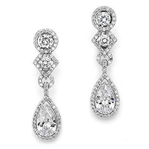 Deco Style Clip Earrings - 8