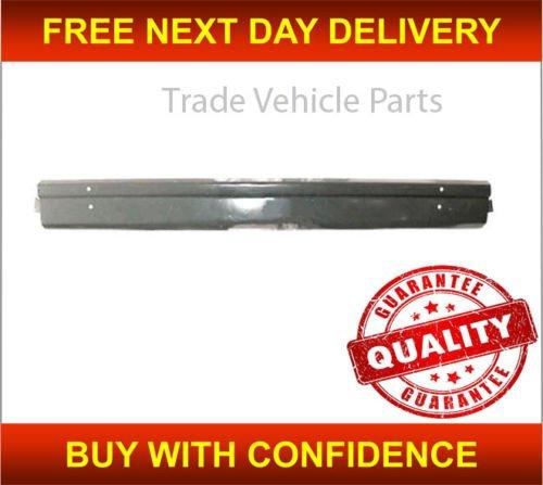Trade Vehicle Parts FT4130 Front Bumper Centre Grey Metal