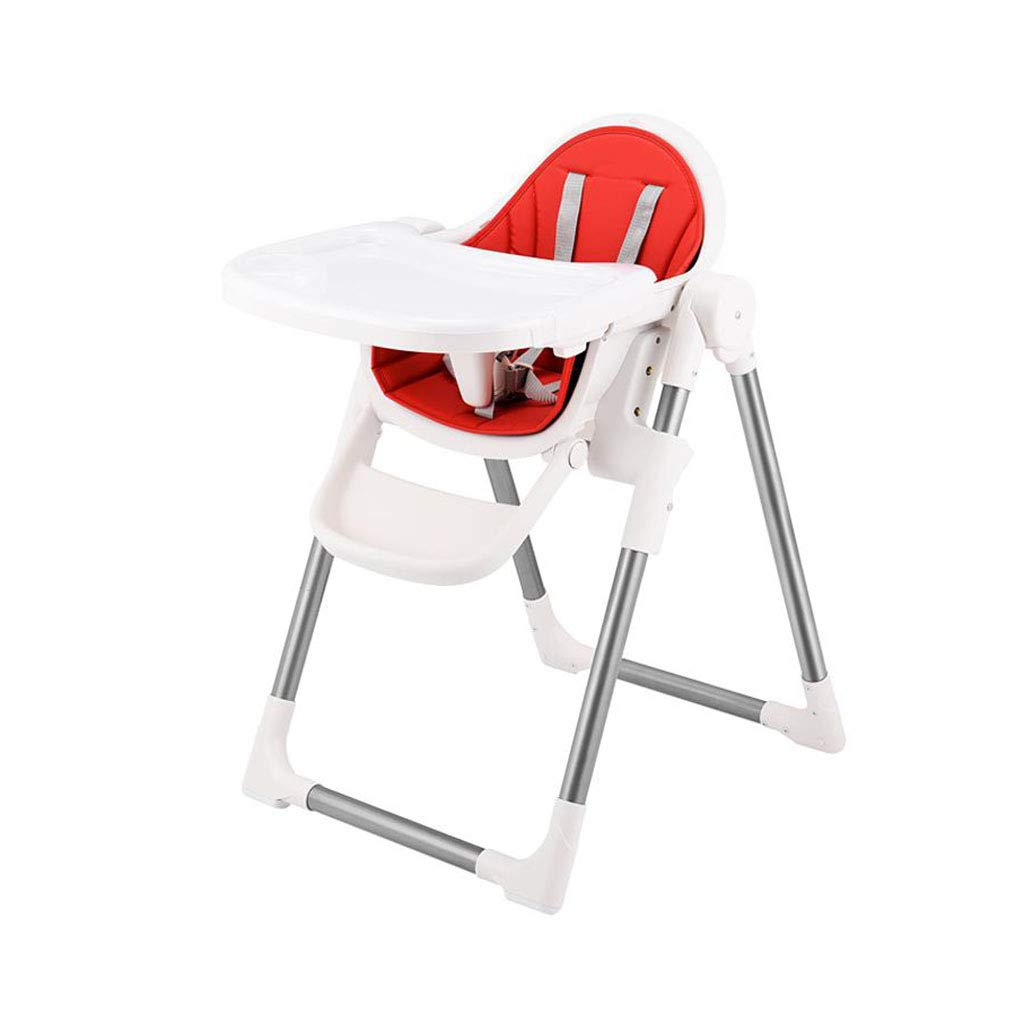 調節可能な赤ん坊のハイチェア供給椅子旅行警備員の商業折り畳み式   B07T6SRGSJ