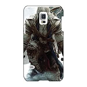 Protector Cell-phone Hard Covers For Samsung Galaxy S5 Mini With Provide Private Custom Lifelike Assassins Creed 3 Series AlainTanielian