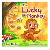 """Children's books : """" The Lucky Monkey """",( Illustrated Picture Book for ages 3-8. Teaches your kid the value of thinking before acting) (Beginner ... skills for kids collection): Volume 14"""