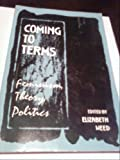 img - for COMING TO TERMS: PAPERBACK EDITION book / textbook / text book