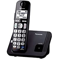 Panasonic DECT 6.0 PLUS Big Button Expandable Cordless Phones System with Talking Caller ID