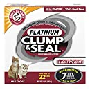 Arm & Hammer Clump & Seal Platinum Lightweight Litter, Multi-Cat, 11 Lbs