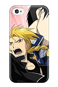 New TmBleai1346suLYx Fullmetal Alchemist Anime Other Tpu Cover Case For Iphone 4/4s