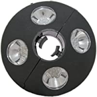 Patio Umbrella Light - 24 LED Lights At 72 Lumens to Really Brighten Your Outdoor Patio Area - 3 X AA Battery Operated - Adjustable to Fit Tightly Around Your Umbrella Pole - Cool White Color - Made of Tough ABS Material by Innovative Kitchen, Bathroom an