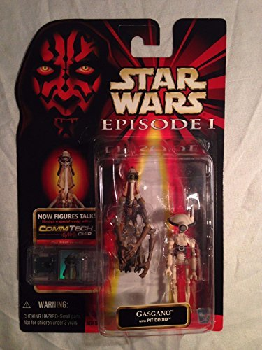 Star Wars Episode I, Phantom Menace Action Figure, Gasgano with Pit Droid (Ebay Best Offer Sold Price)