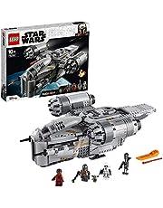 LEGO 75292 Star Wars The Mandalorian De Razor Crest Speelgoed Ruimteschip met Baby Yoda Poppetje, Bouwset voor Kinderen vanaf 10 Jaar