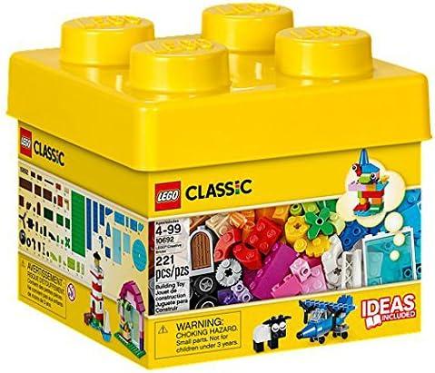 LEGO Classic Creative Bricks Chica 221pieza(s) Juego de construcción - Juegos de construcción, 4 año(s), 221 Pieza(s), Chica, 99 año(s), Clásico: Amazon.es: Juguetes y juegos