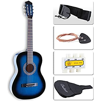 best choice products 38in beginners acoustic electric cutaway guitar w case extra. Black Bedroom Furniture Sets. Home Design Ideas