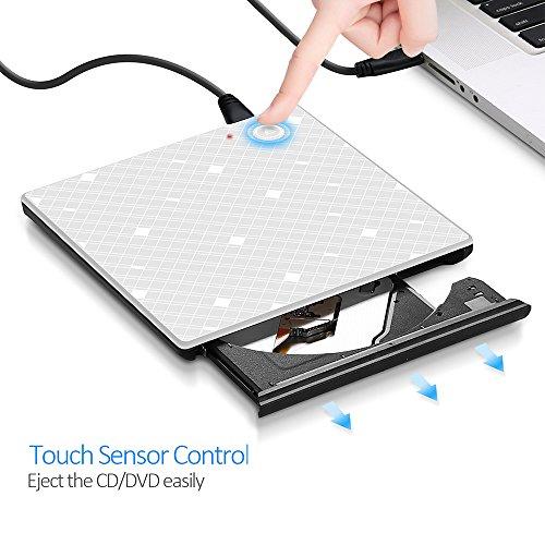 USB 3.0 External DVD Drive, YAHE External Optical Disk All-i