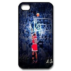 Custom High Quality WUCHAOGUI Phone case Super Star Michael Jordan Protective Case For Iphone 4 4S case cover - Case-1 WANGJING JINDA