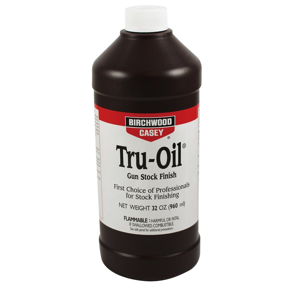 Birchwood Casey Tru-Oil Stock Finish 32 Ounce, White, One Size