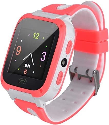 Naroote Posicionamiento Smartwatch,Smartwatch para niños Tel¨|Fono ...