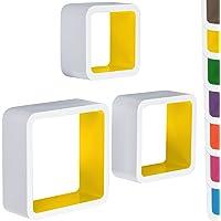 MIADOMODO – Set de 3 estanterías de Pared de diseño Elegir