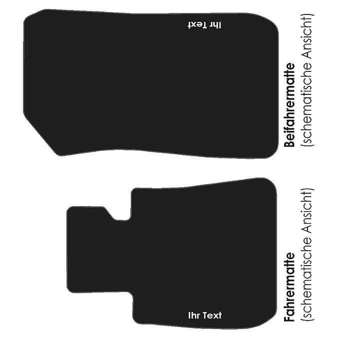 Auto Fußmatten B-E90 Bestickt mit Text Namen Werbung usw ...