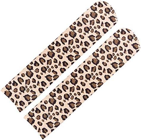 Kinlene Mujeres Rainbow Winter Warm Cable Calcetines largos Leopard Dot Muslo Medias altas: Amazon.es: Ropa y accesorios